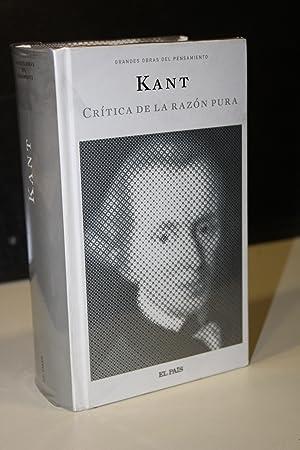 Nueva crítica de la razón pura.- Kant.: Kant, Immanuel