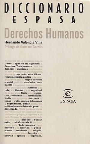 DICCIONARIO ESPASA. DERECHOS HUMANOS: VALENCIA VILLA, HERNANDO