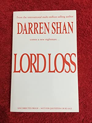 Lord Loss (UK PB 1/1 Signed Uncorrected Book Proof(ARC) in Fine condition - Boxed and Bagged sinc...