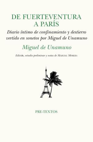 DE FUERTEVENTURA A PARÍS: DE UNAMUNO, MIGUEL