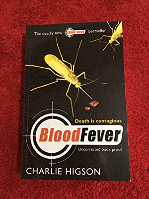 Blood Fever (UK PB 1/1 Signed and Inscribed by the Author - Uncorrected Book Proof(ARC) Lovely Co...