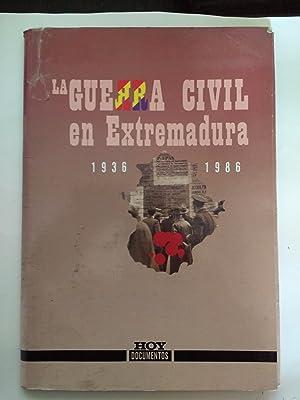 LA GUERRA CIVIL EN EXTREMADURA.: VARIOS AUTORES.