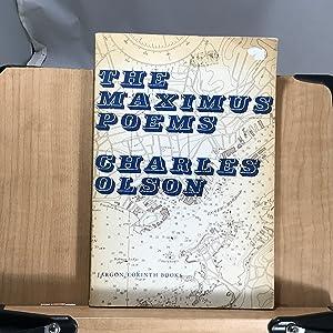 Imagen del vendedor de The Maximus Poems a la venta por ROBIN RARE BOOKS at the Midtown Scholar