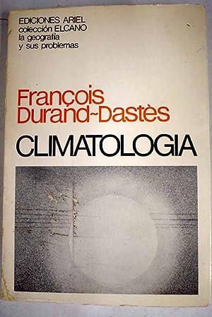 Climatología: Durand-Dastes, Francois