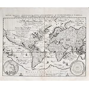 Nova Totius Terrarum Orbis Geographica ac Hydrographica: MERIAN, MATTHAUS
