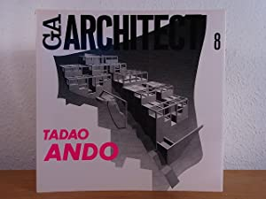GA Architect 8 - Global Architecture. Tadao Ando [signed and with a simple Drawing by Tadao Ando]