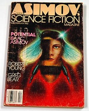 ISAAC ASIMOV'S Science Fiction: February, Feb. 1983: Asimov's (Gerry Mooney;