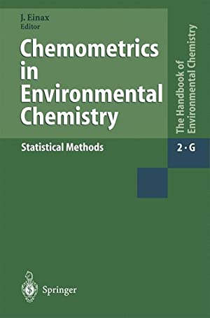 Chemometrics in Environmental Chemistry - Statistical Methods: Einax, Jà ¼rgen|Barnard, T.