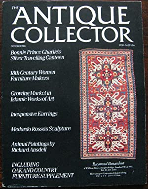The Antique Collector. Volume 56. Number 10. October 1985