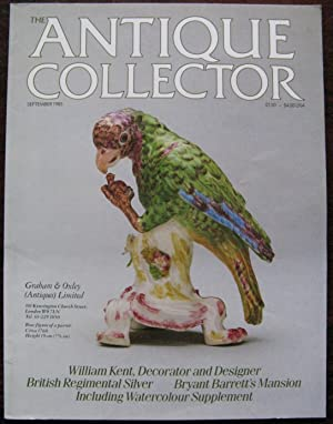 The Antique Collector. Volume 56. Number 9. September 1985