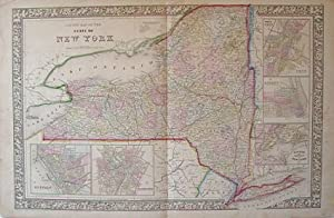 County Map of the State of New York