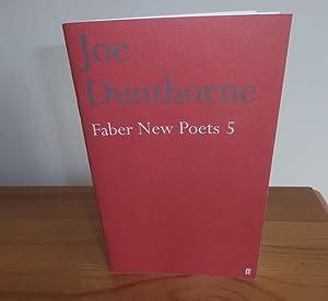 Faber New Poets 5: Dunthorne, Joe