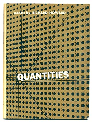 Quantities [first edition of author's first book, presentation copy]