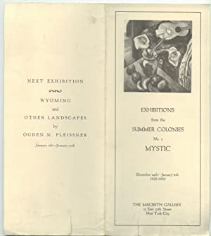 Exhibitions from the Summer Colonies: No. 3 Mystic [1929-30]