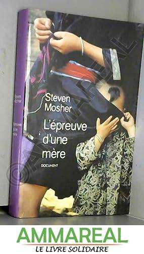 Seller image for L'épreuve d'une mère for sale by Ammareal