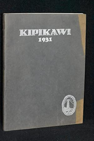 Kipikawi 1931; Washington Park High School Yearbook, Racine, Wisconsin