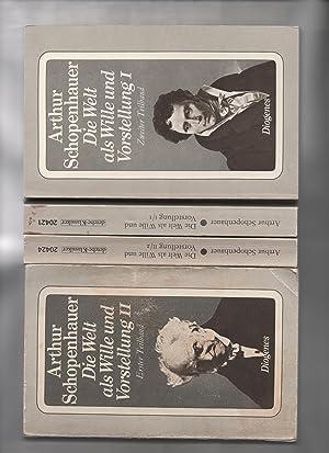 Schopenhauer, Arthur: Zürcher Ausgabe; Die Welt als: Schopenhauer, Arthur: