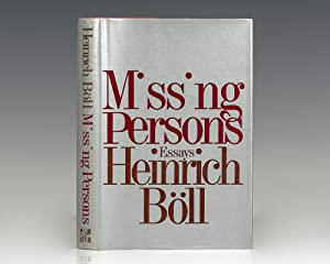 Missing Persons and Other Essays.: Boll, Heinrich