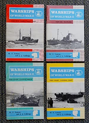 WARSHIPS OF WORLD WAR II. PARTS 5-8. PART 5: TOWING AND SALVAGE. PART 6: TRAWLERS. PART 7: COASTA...