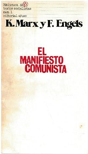 El manifiesto comunista: C. Marx y