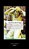 Obra Po tica Y Textos En Prosa: Bienvenido Morros