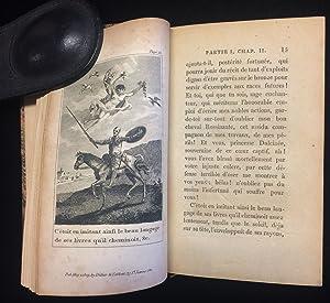 Image du vendeur pour DON QUICHOTTE DE LA MANCHA TRADUIT DE L'ESPAGNOL .PAR FLORIAN; OUVRAGE POSTHUME mis en vente par Johnnycake Books ABAA, ILAB