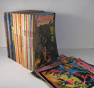 Creepy. 57 Issues. August 1975 - 1985