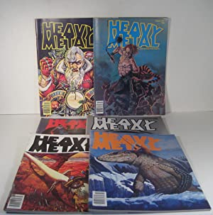 Heavy Metal. 6 Issues 1977