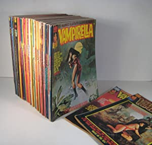 Vampirella. 54 Issues. March 1975 - December 1982