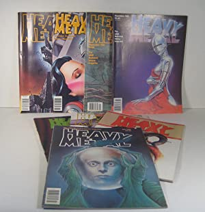 Heavy Metal. 8 Issues. 1980
