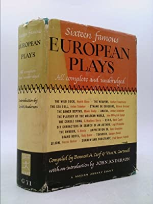 Sixteen Famous European Plays: Cerf, Bennett A.