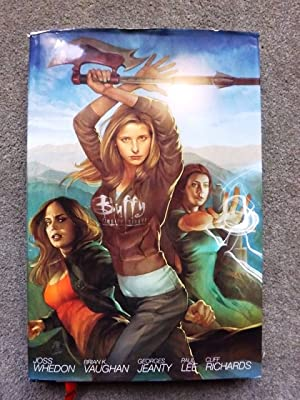 Buffy The Vampire Slayer Season 8 Library Edition Volume 1 HC