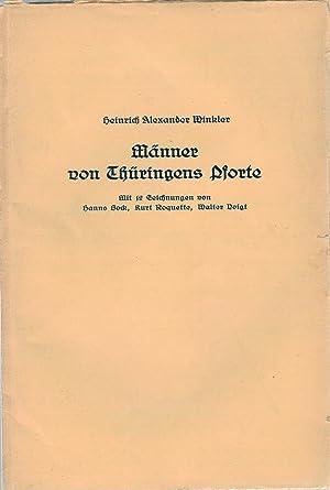 Männer von Thüringens Pforte: Winkler, Heinrich Alexander