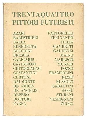 Mostra di trentaquattro pittori futuristi.: GALLERIA PESARO -