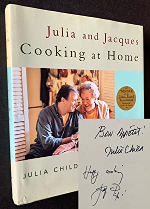 Julia and Jacques: Cooking at Home (Signed by Both Julia Child and Jacques Pepin)