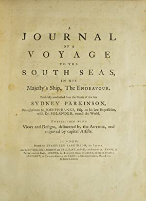 A Journal of a Voyage to the: Cook, Captain James)