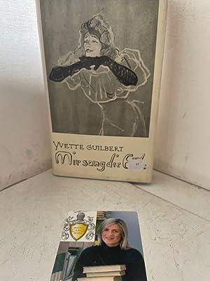 Mir sang die Erde: Guilbert, Yvette: