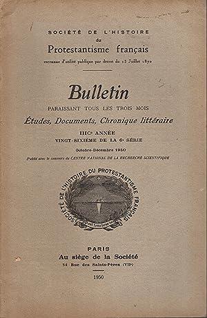 Société de l'Histoire du Protestantisme français. -: Pierre Bovet, R.-A.