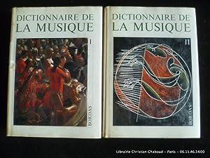 Dictionnaire de la musique. En 2 volumes.: Marc Honegger