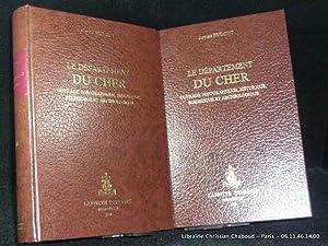 Le département du Cher. Ouvrage topographique, historique,: Frémont, Auguste