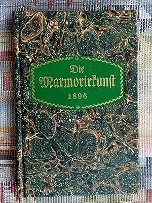 Die Marmorirkunst : e. Lehr- u. Handbuch: Boeck, Josef Phileas: