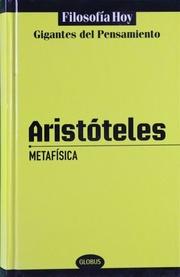 Metafísica: Aristóteles