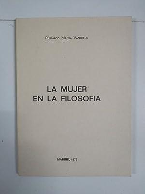 La mujer en la filosofía: Plutarco Marsá Vancells