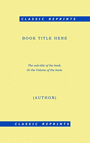 490 p.) (1815) [Reprint] [Softcover]: Maximilian Samson Friedrich