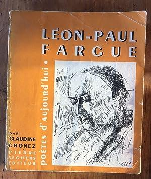 Léon-Paul Fargue: CLAUDINE CHONEZ