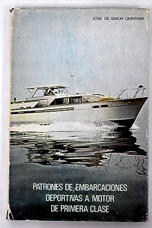Imagen del vendedor de Patrones de embarcaciones deportivas a motor de primera clase a la venta por Alcaná Libros