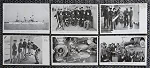 "U.S. FLAGSHIP ""OLYMPIA"" - 9 POST CARDS + 1 ""DES MOINES"" + 1 ""CLEVELAND"". PRE-FIRST WORLD WAR. 11 ..."