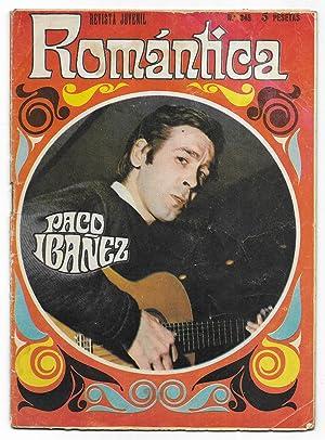 Romantica revista juvenil Femenina Nº345 Paco Ibañez