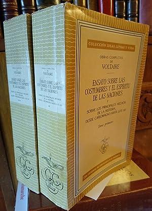 Obras Completas de Voltaire - ENSAYO SOBRE: VOLTAIRE