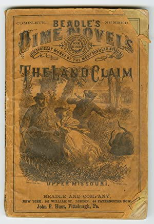 ALICIA NEWCOME; OR, THE LAND CLAIM. A TALE OF UPPER MISSOURI